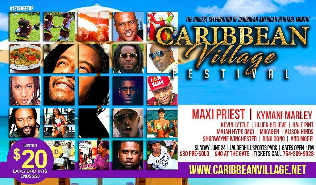 Yellow Cab of Broward is the Official Transportation Provider of the Caribbean Village Festival!