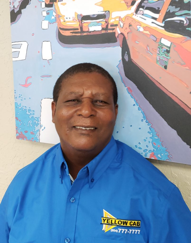July – Driver of the Month – Yellow Cab Broward